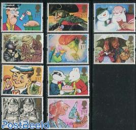Children book illustrations 10v