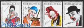 Europa, clowns 4v