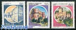Definitives, castles 3v