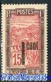 Overprint 1 cent 1v