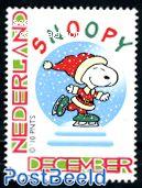 Personal christmas stamp, Snoopy 1v
