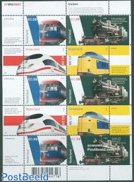 Railways minisheet