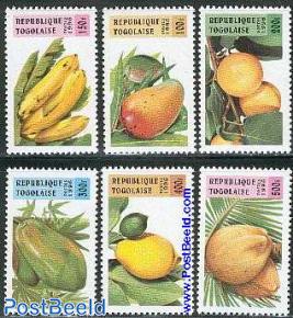 Fruits 6v