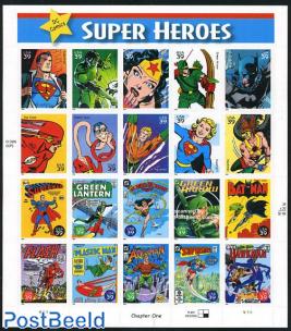 Super Heroes 20v m/s s-a