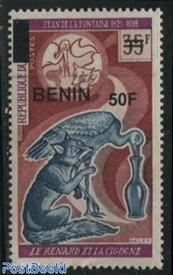50f on 35f, Jean de la Fontaine 1v