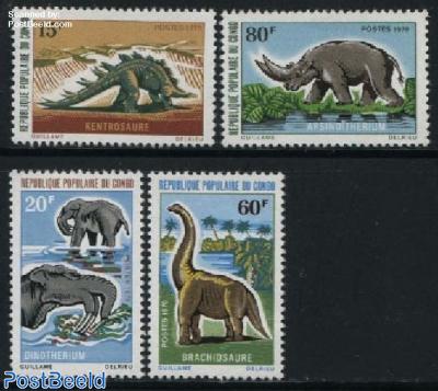 Prehistoric animals 4v