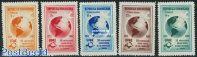 Postal union with Spain 5v
