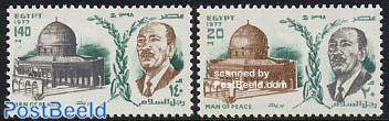 Visit of Sadat to Jerusalem 2v