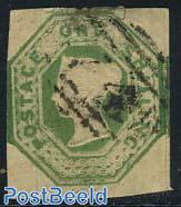 1Sh, Green, Queen Victoria