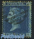 2p Blue, Queen Victoria