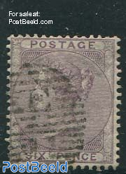 6p Purpleviolet, Queen Victoria