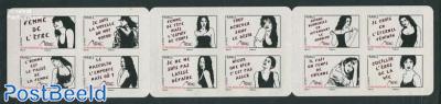 Women 12v s-a in foil booklet