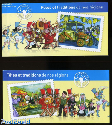 Regional festivals 24v (2 booklets) s-a