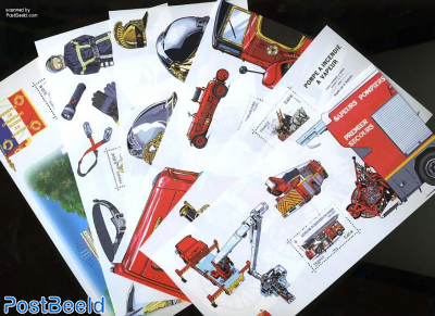 Fire brigades 6 s/s