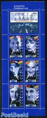Film stars 6v in booklet
