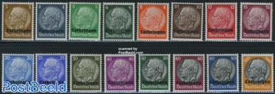Lotharingen German occupation 16v
