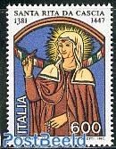 Holy Rita of Cascia 1v