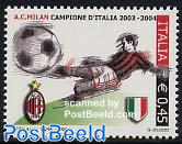 A.C. Milan champion 1v