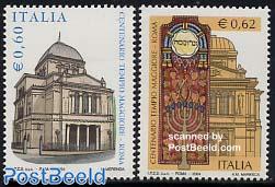 Tempio Maggiore 2v, joint issue
