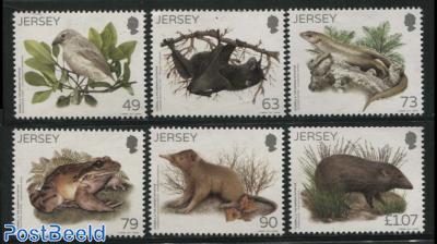 Durrell and Darwin, animals 6v