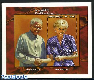 Diana & Nelson Mandela s/s