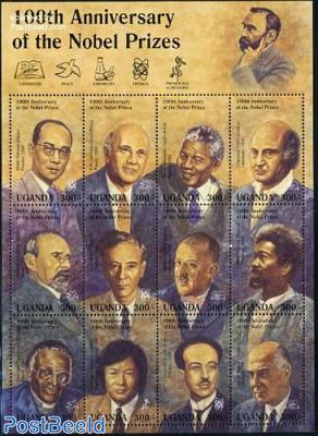 Nobel prize winners 12v m/s