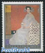 150th birth anniv. Gustav Klimt 1v