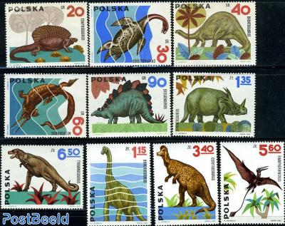 Prehistoric animals 10v