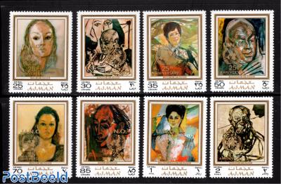 Rutsch paintings 8v