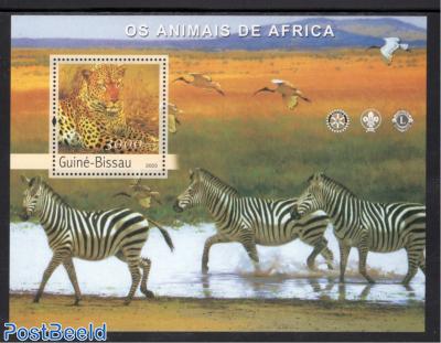 Animals of Africa s/s