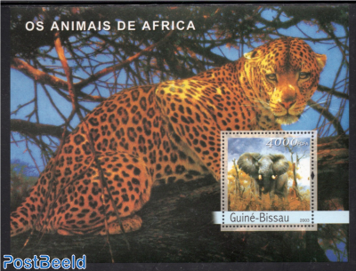 Animals from Africa s/s
