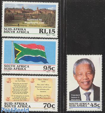 President Mandela 4v